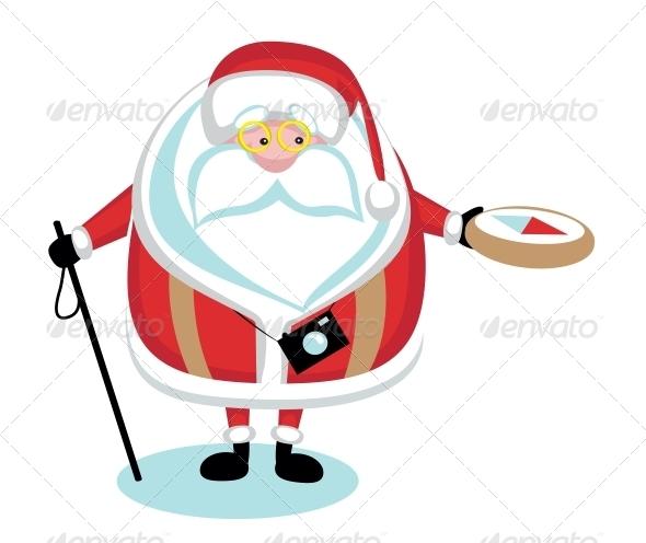 GraphicRiver Extreme Santa 4108237