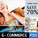 FB E-Commerce Timeline Covers - GraphicRiver Item for Sale