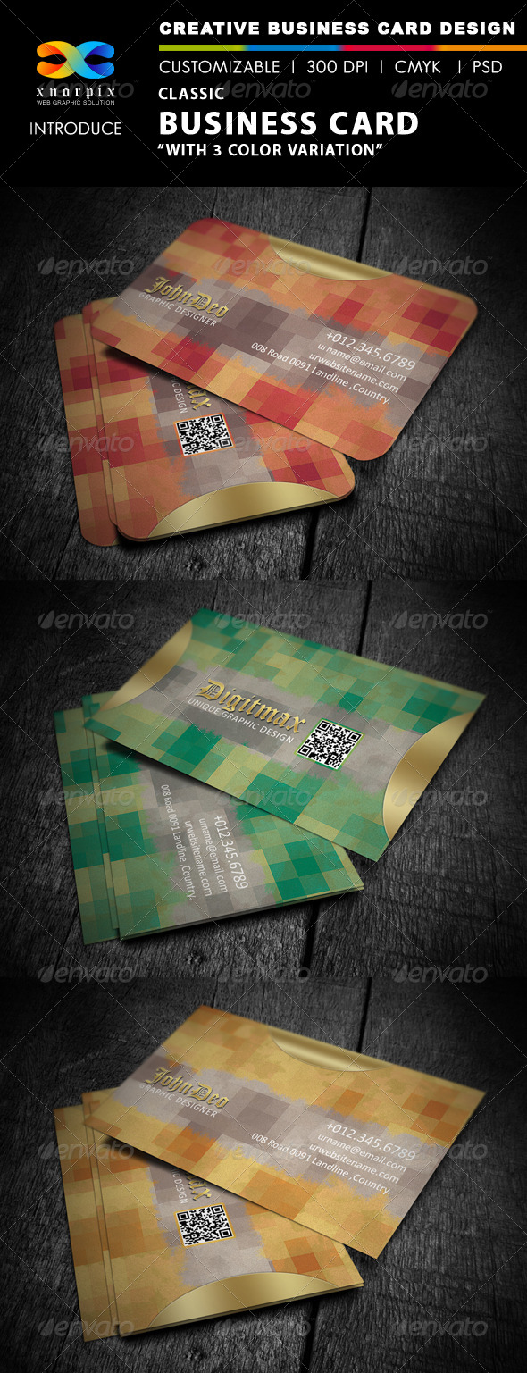 GraphicRiver Classic Business Card 4110142