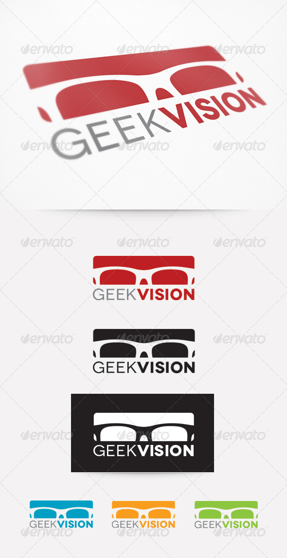 GraphicRiver Geek Vision Logo 4110194