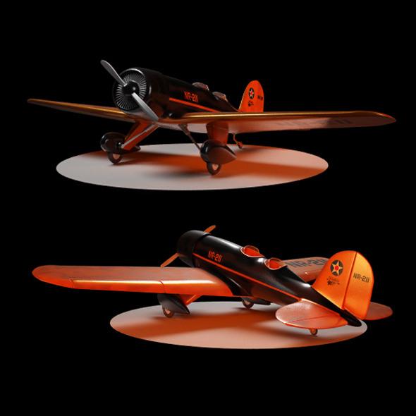Lockheed Model 8 Sirius - 3DOcean Item for Sale