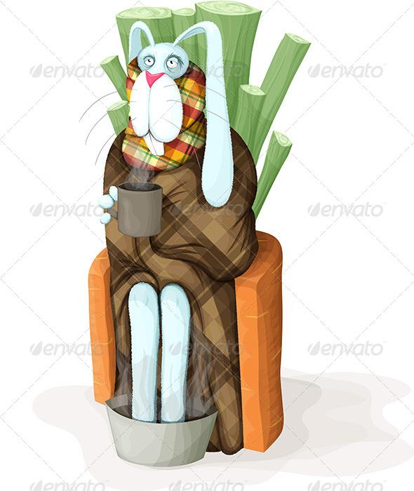 GraphicRiver Sick Bunny 4110280
