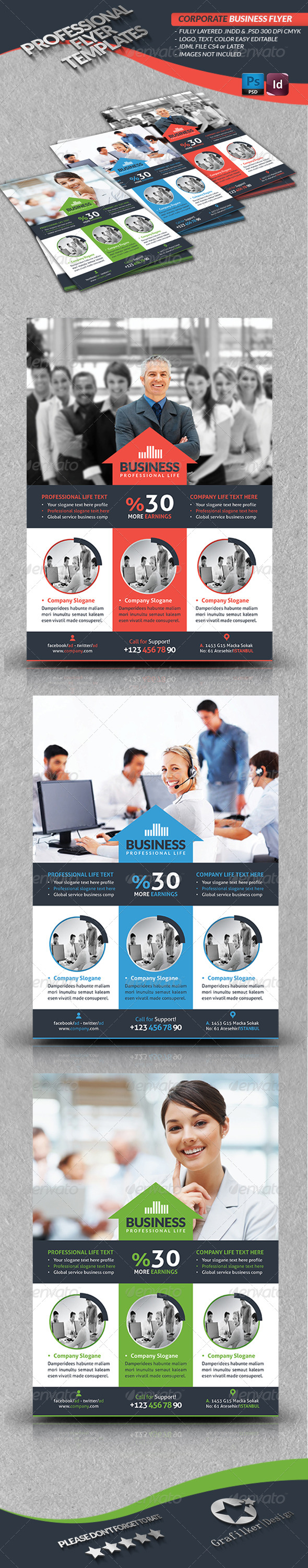 GraphicRiver Corporate Business Flyer 4110769