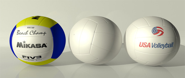 3DOcean Volley Ball Collection 4110935