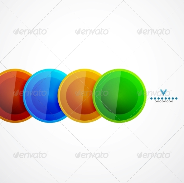GraphicRiver Abstract Geometrical Circles Template 4111110