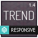 Trend - Responsive Magento Theme - ThemeForest Item for Sale