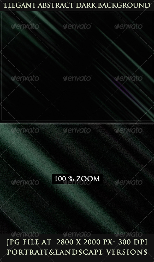 GraphicRiver Elegant Abstract Dark Backgrounds 4111427