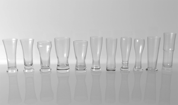 3DOcean Glass Pack Collection 06 4111815