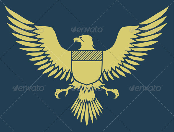 GraphicRiver Coat of Arms Bird 4112183