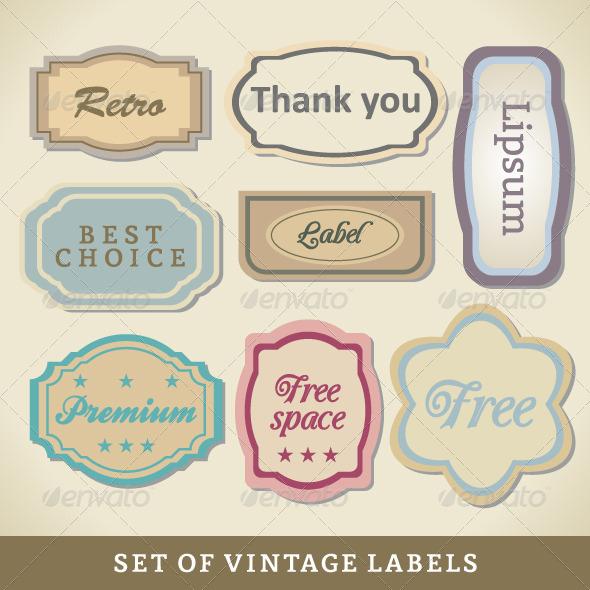 GraphicRiver Blank Vintage Design Cards 4112223