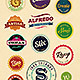 16 Resizable Retro Badges - GraphicRiver Item for Sale