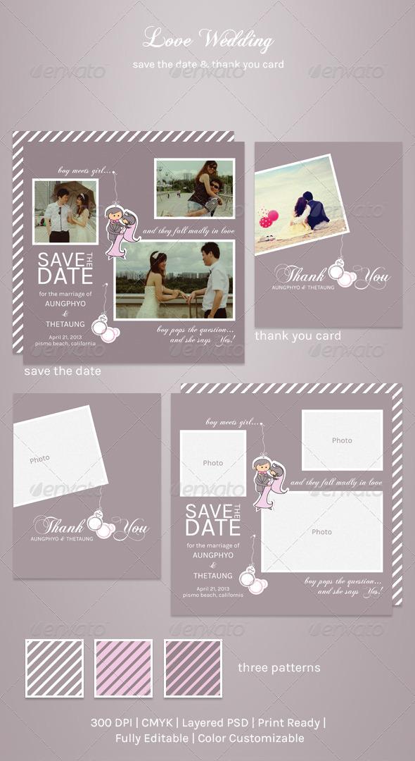 GraphicRiver Love Wedding 4000957