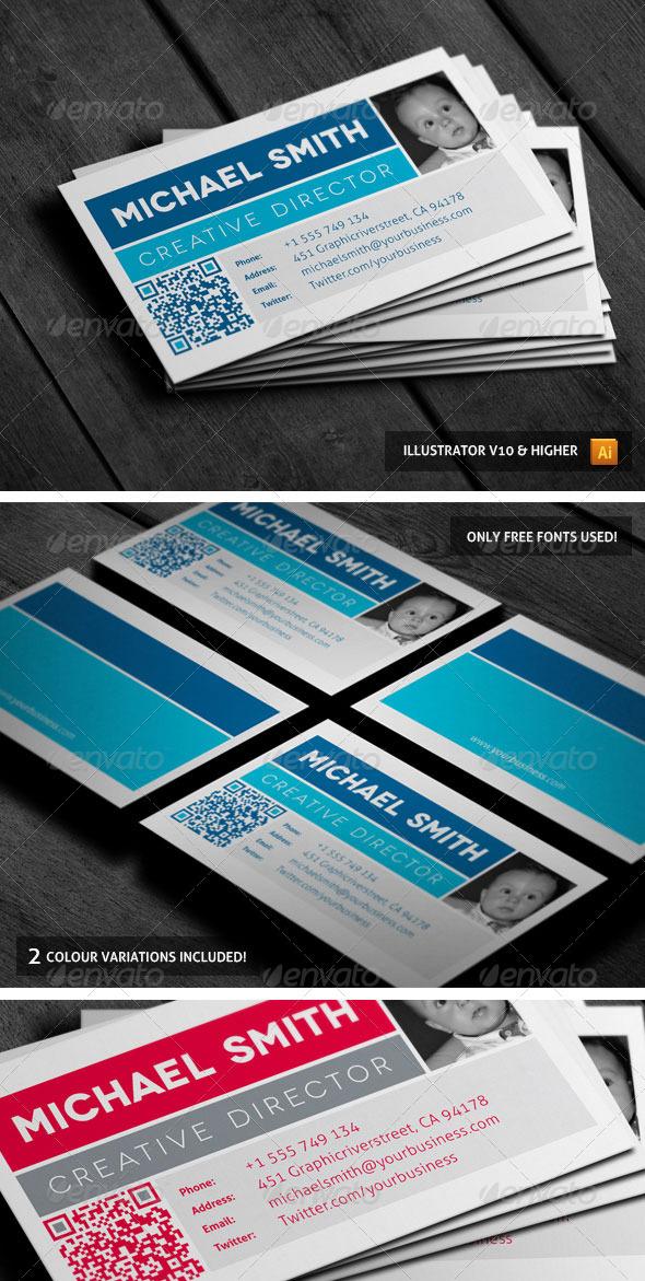 GraphicRiver Clean Box Businesscard 02 3986215