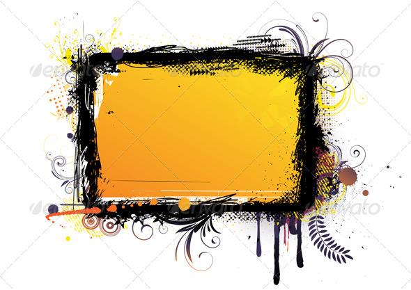 GraphicRiver Urban Grunge Frame 4112785