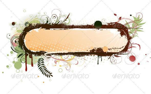 GraphicRiver Grunge Frame 4112796