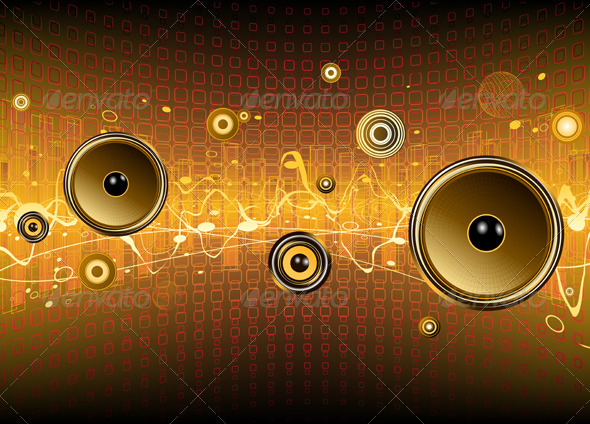 GraphicRiver Abstract Party Background 4112805