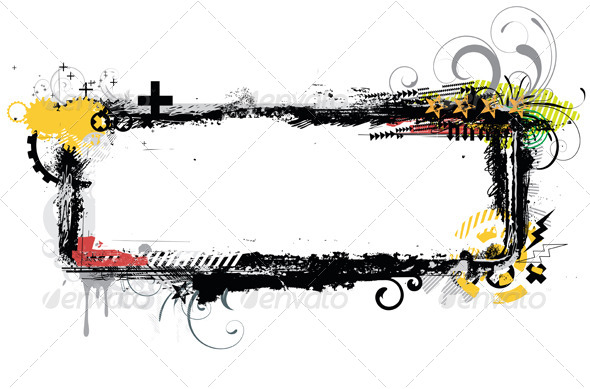 GraphicRiver Urban Grunge Frame 4112839