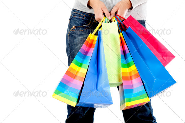 shopping bags - Stock Photo - Images