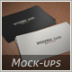 Business Card Mock-up 01 - GraphicRiver Item for Sale