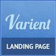Varient Responsive Multi Purpose Landing Page - ThemeForest Item for Sale