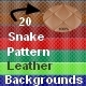 20 Snake Pattern Leather Backgrounds - GraphicRiver Item for Sale