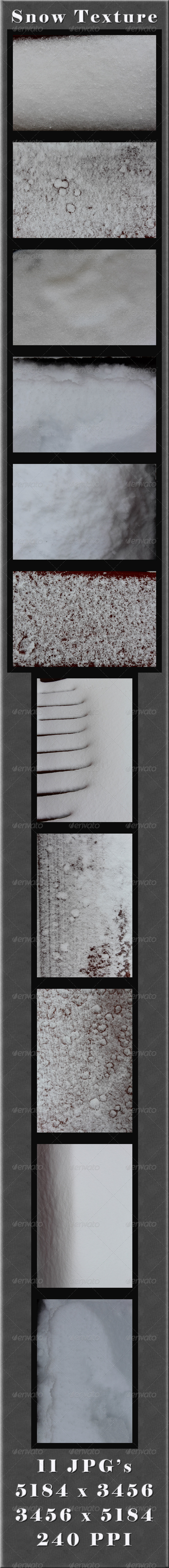 GraphicRiver Snow Textures 4114980