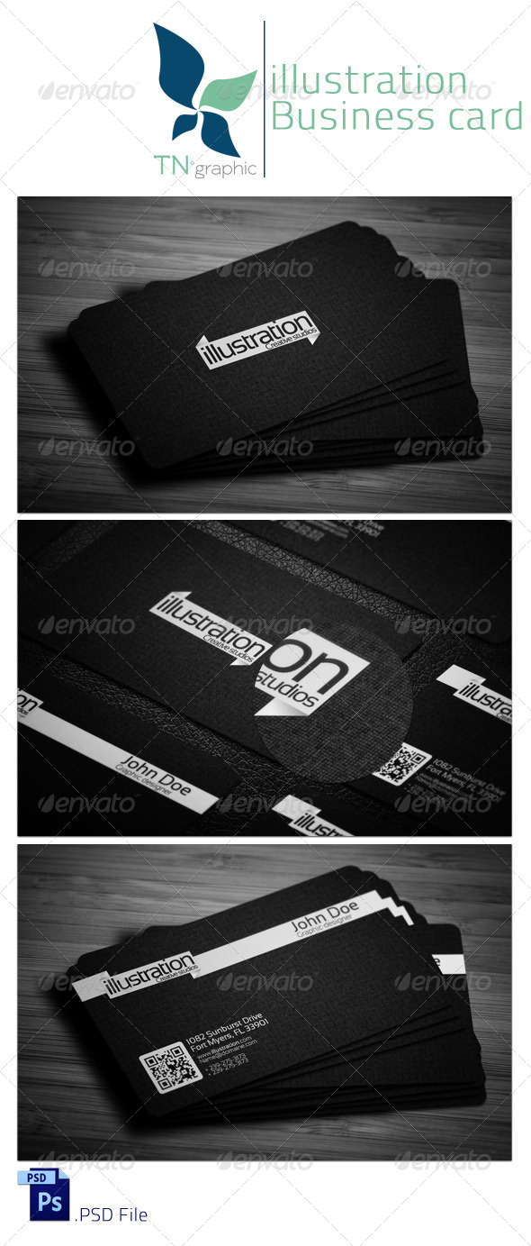 GraphicRiver Illustration Business card 4115144