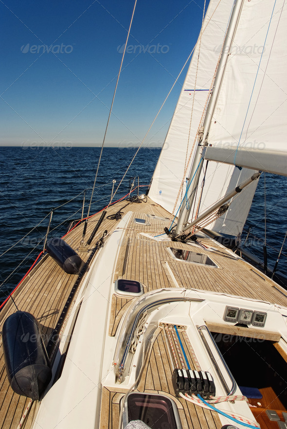 Stock Photo - PhotoDune Sailing Yacht 444930