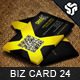 Business Card Design 24 - GraphicRiver Item for Sale