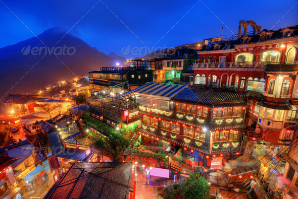 Taiwan Village - Stock Photo - Images