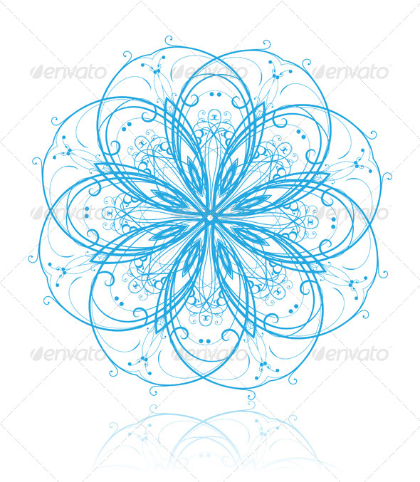 GraphicRiver Snowflake 4116002