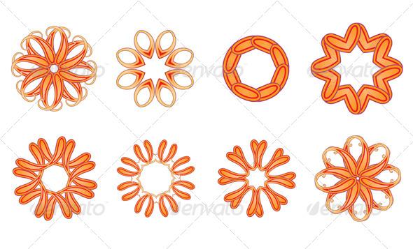 GraphicRiver Snowflakes 4116103