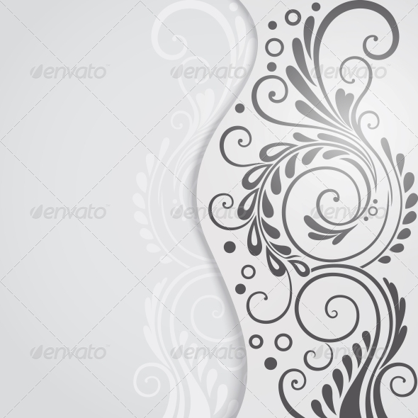GraphicRiver Abstract Floral Background for Design 4116213