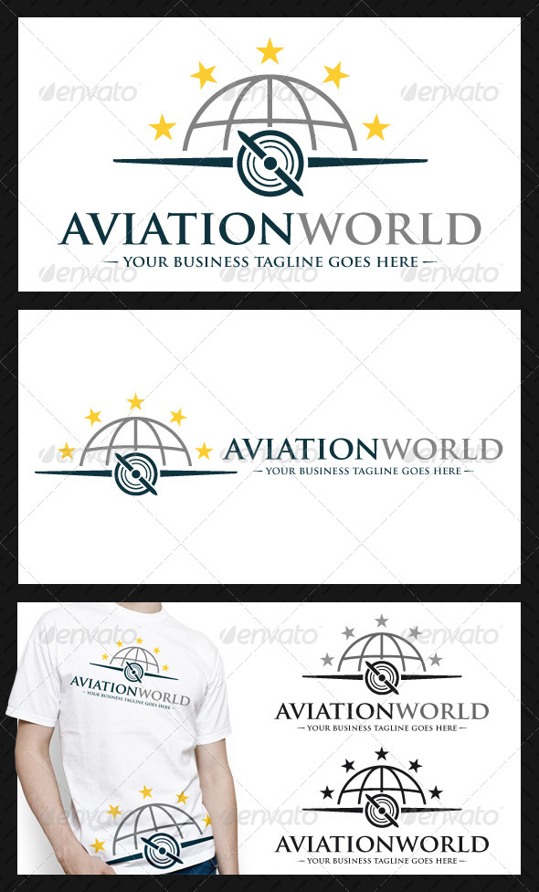 GraphicRiver Aviation Logo Template 4116850