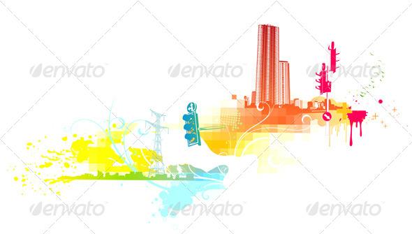 GraphicRiver Urban Grunge Background 4117062