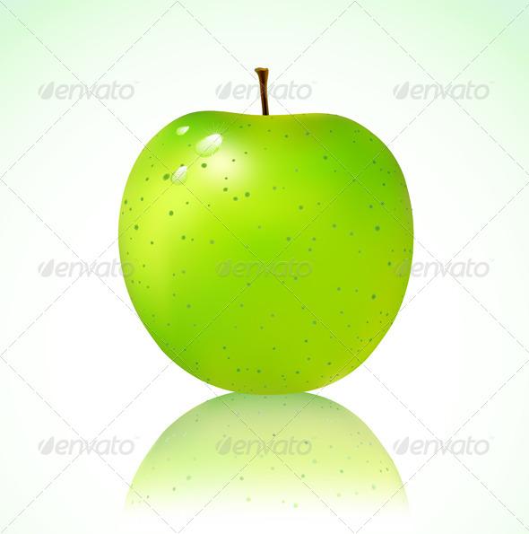 GraphicRiver Green Apple 4117343
