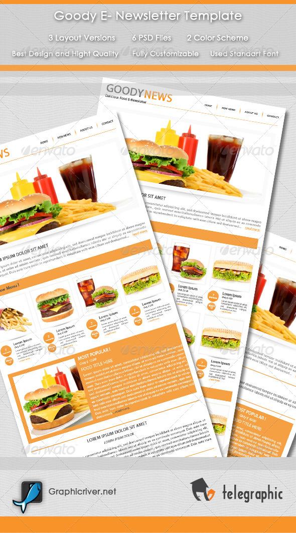 Goody E-Newsletter - E-newsletters Web Elements