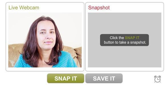 PhotoBooth - Webcam image capture