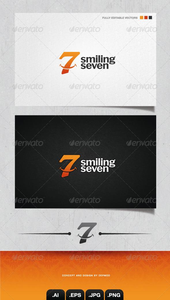 GraphicRiver Smiling Seven Logo 4045306