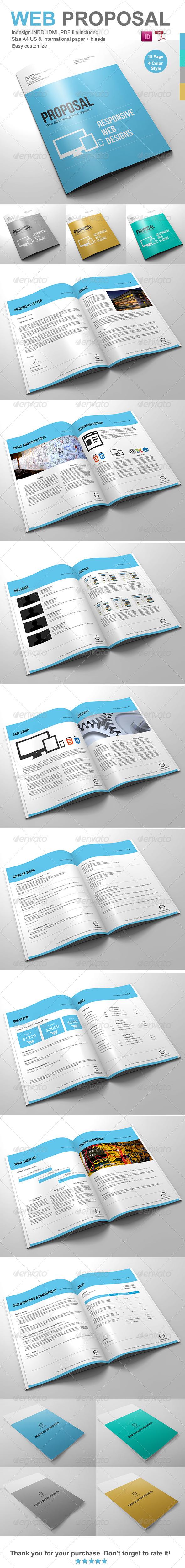 GraphicRiver Gstudio Web Proposal Template 4117681