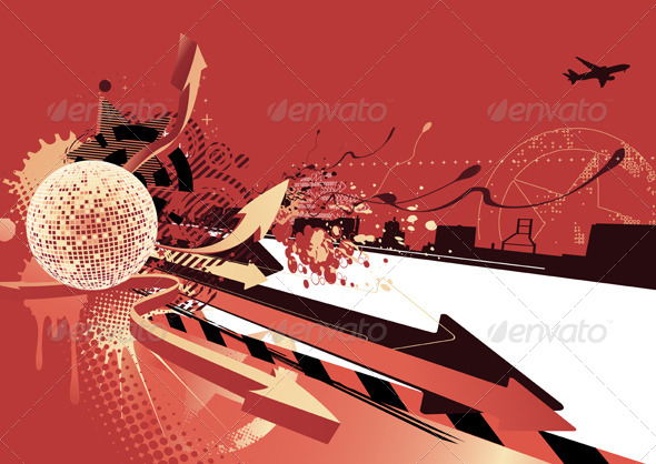 GraphicRiver Abstract Party Design 4117738