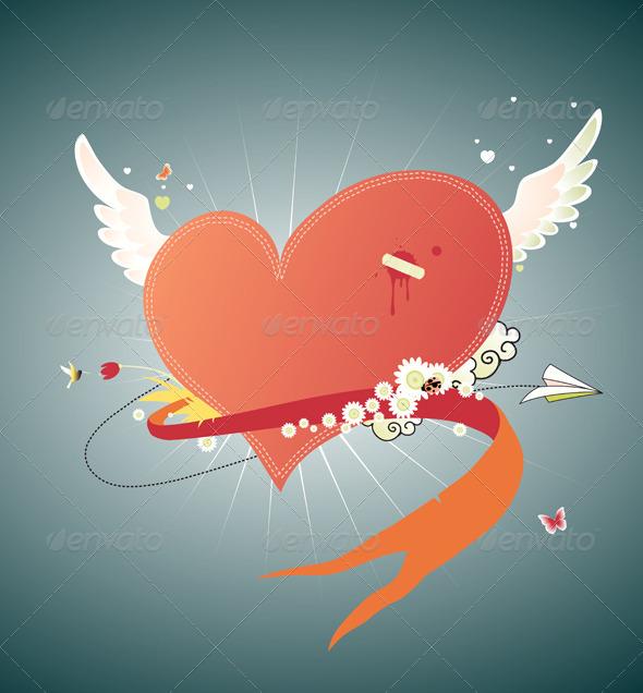 GraphicRiver Valentine's Day 4117741