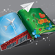 Renewable Energy Magazine - GraphicRiver Item for Sale