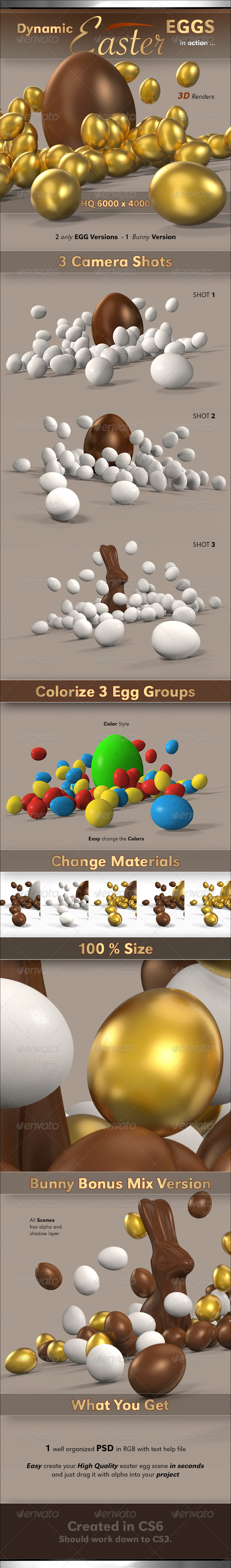 GraphicRiver Dynamic Eggs 4117978