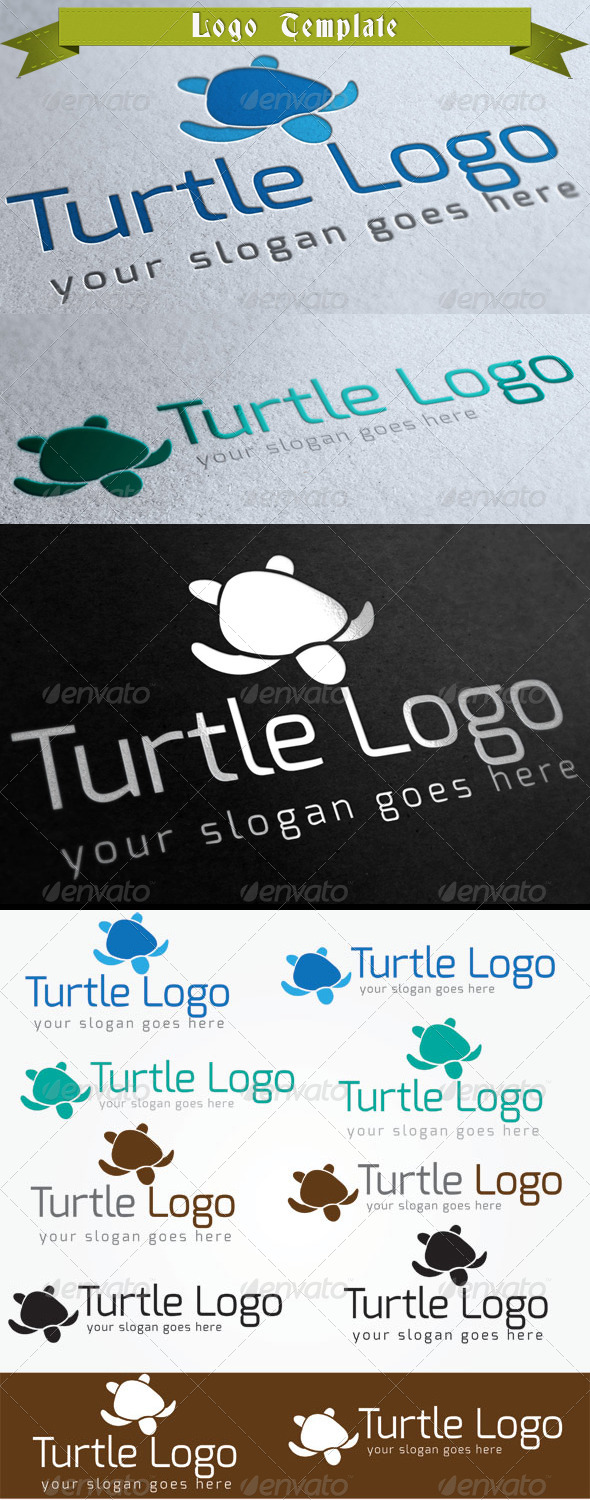 GraphicRiver Turtle Logo Template 4050833