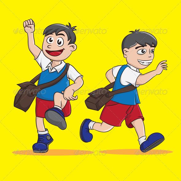 GraphicRiver Go to School 4118368