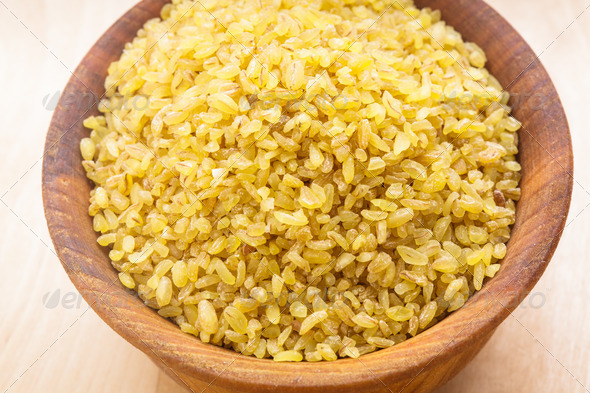 Bulgur - Stock Photo - Images