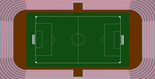 3DOcean Soccer Stadium 3532724
