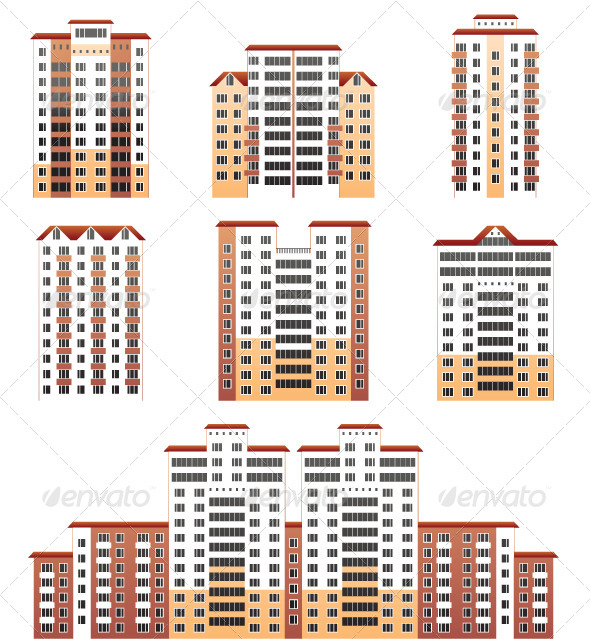 GraphicRiver Modern Buildings 4118570
