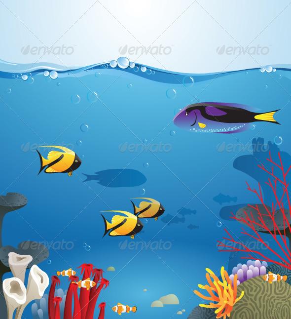 GraphicRiver Underwater Life 4118817